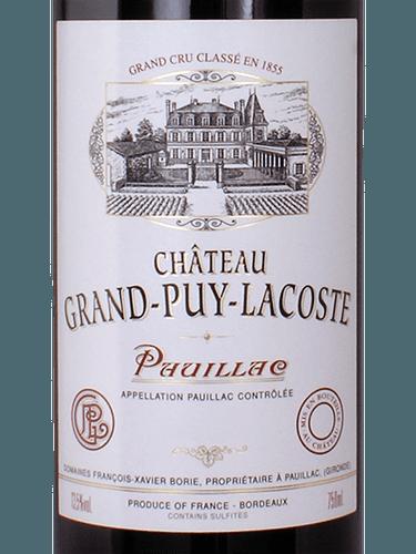 Château 2004 Cru grand Puy Info Pauillac Grand Wine Classé Lacoste awrgaFq