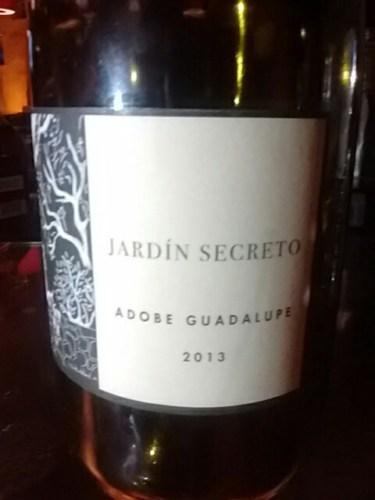 Adobe guadalupe jard n secreto 2013 for Jardin secret wine
