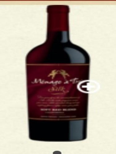 Menage Trois Silk Soft Red Blend 2016 Wine Info