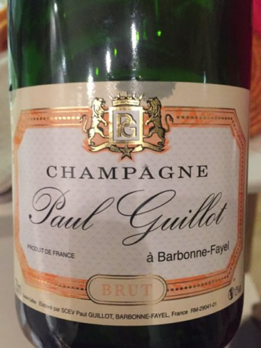 Paul guillot champagne blanc de blancs brut wine info for Belle jardin blanc de blancs