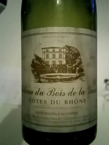 Mousset Barrot Ch u00e2teau du Bois de la Garde C u00f4tes du Rh u00f4ne 1997 Wine Info # Chateau Du Bois De La Garde