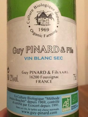 guy pinard vin blanc sec 1969 wine info. Black Bedroom Furniture Sets. Home Design Ideas