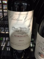Château Gillet Bordeaux 2014