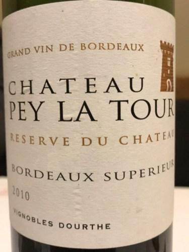 Reserve Du Chateau La Tour  Rating