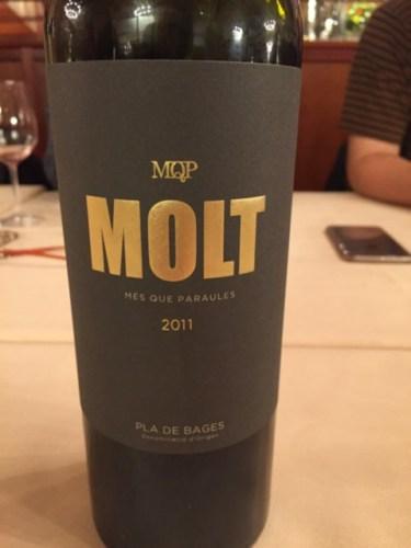 Mes que paraules mqp molt pla de bages wine info - Mes que paraules tinto ...
