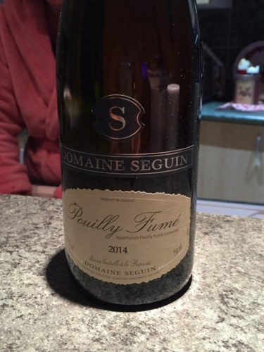 Seguin pouilly fum 2014 wine info for Champagne seguin