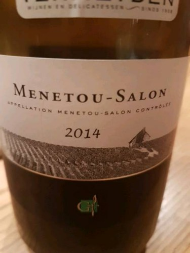 Gerard fiou menetou salon 2014 wine info - Assadet menetou salon ...