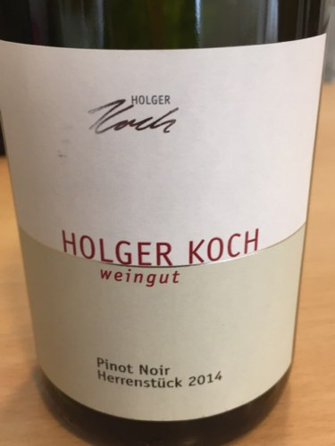 Holger koch pinot noir 2014 wine info for Koch 3 winde