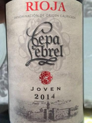 2014 Cepa Lebrel Rioja Joven Vivino