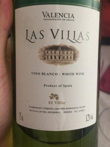 El Villar Las Villas Blanco U.V. | Wine Info