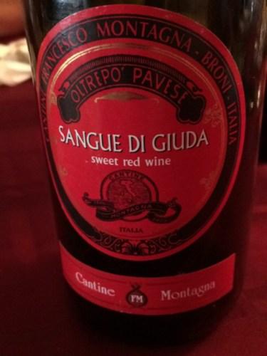 Montagna oltrepo pavese sangue di giuda 2014 wine info for Cabine vicino montagna di sangue