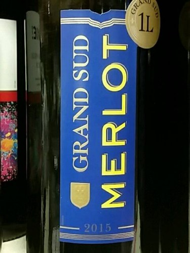 Grand sud merlot 2015 wine info for Carrelage grand sud