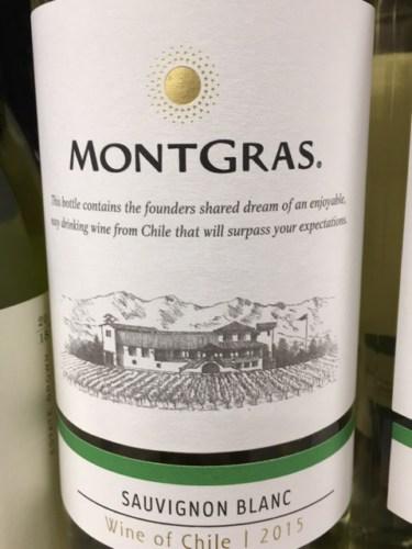 Kết quả hình ảnh cho montgras sauvignon blanc