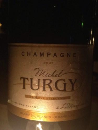 Michel turgy champagne le mesnil sur oger r serve selection blanc de blancs grand cru brut for Salon blanc de blancs le mesnil sur oger