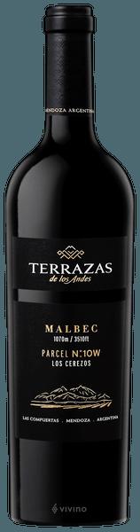 Terrazas De Los Andes Single Parcel Los Cerezos Malbec 2016