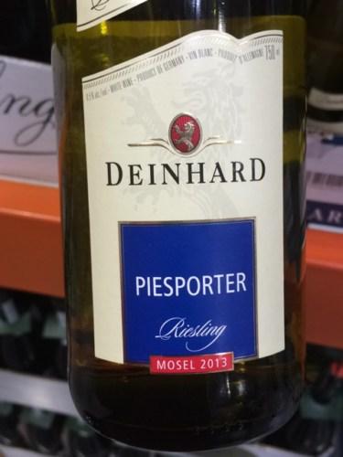 Deinhard piesporter riesling 2013 wine info for Deinhard wine