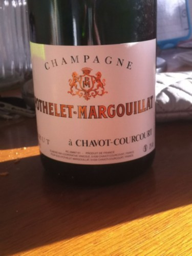 Pothelet-Margouillat Champagne Chavot-Courcourt Brut ...