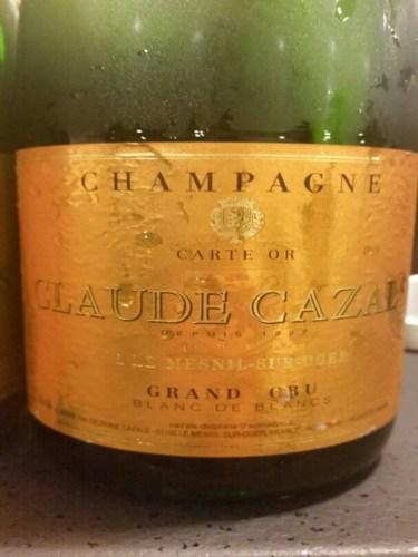 Claude cazals champagne le mesnil sur oger grand cru blanc de blancs wine info for Salon blanc de blancs le mesnil sur oger
