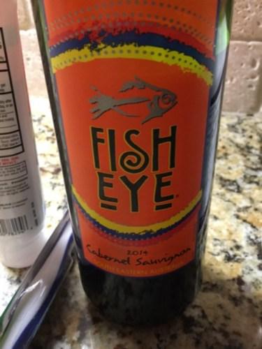 Fisheye cabernet sauvignon 2014 wine info for Fish eye wine