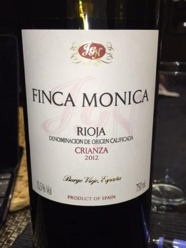 Finca Monica Crianza Rioja 2012