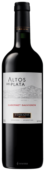 Terrazas De Los Andes Altos Del Plata Cabernet Sauvignon 2016