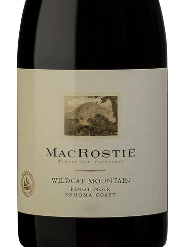 Macrostie Wildcat Mountain Vineyard Pinot Noir Wine Info