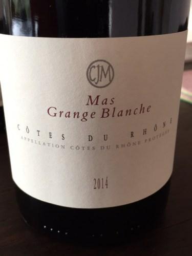 Mas grange blanche c tes du rh ne 2001 wine info - Urgence grange blanche ...