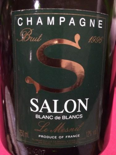 Salon Le Mesnil Blanc de Blancs Brut Champagne 1996 | Wine Info