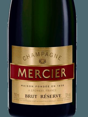 Vellidte Mercier Réserve Brut Champagne N.V. | Wine Info TF-73