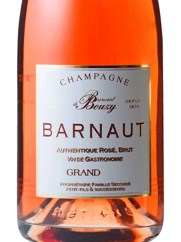 Barnaut Rosé Authentique Brut Champagne Grand Cru 'Bouzy'