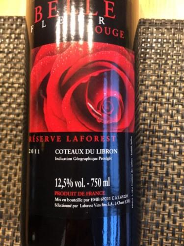 Belle Fleur Rouge Reserve Laforest Coteaux Du Libron Wine Info