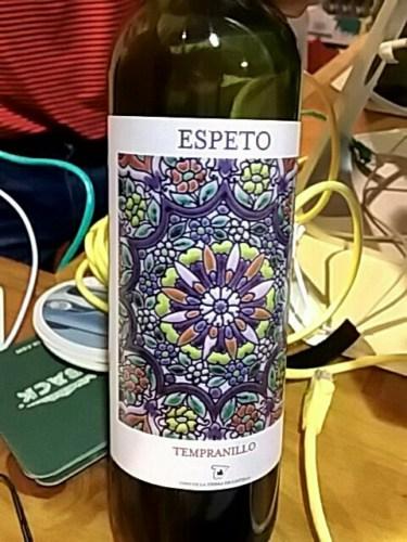 2014 Espeto Tempranillo Vino de la Tierra de Castilla ...