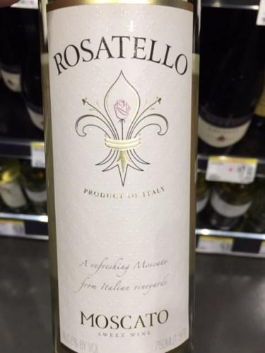 Rosatello Moscato Wine Info
