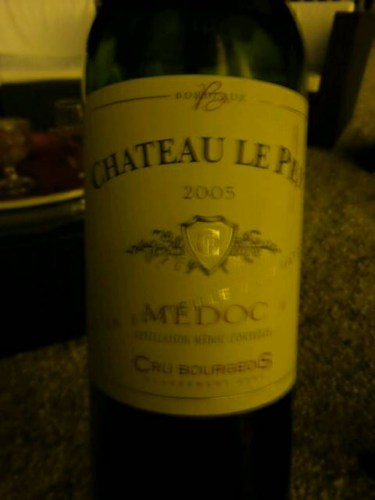 ch teau le pey medoc cru bourgeois 2005 wine info. Black Bedroom Furniture Sets. Home Design Ideas