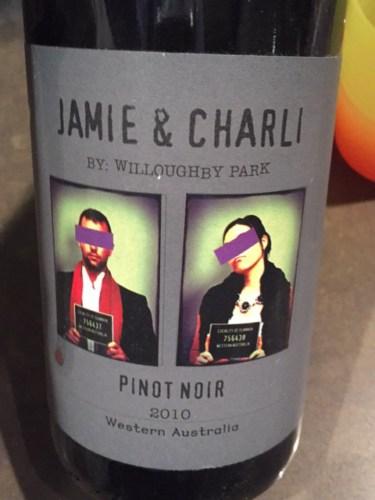 Willoughby Park Jamie Charli Pinot Noir Wine Info