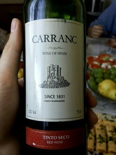 Carranc Vino Tinto Seco | Wine Info
