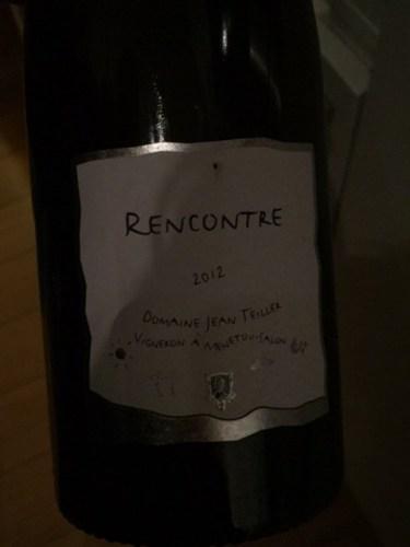 Domaine jean teiller menetou salon rencontre 2012 wine info - Menetou salon teiller ...