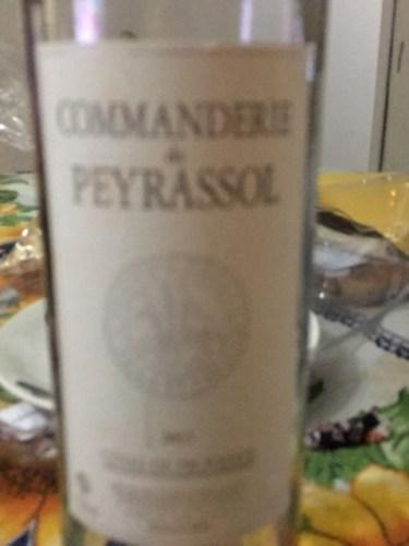 La commanderie de peyrassol peyrassol rouge 2013 wine info - La commanderie de peyrassol ...