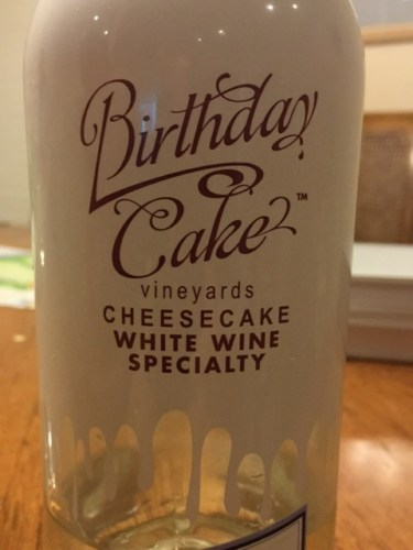 Cheesecake Birthday Cake Specialty White
