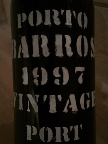 1997 Barros Porto Vintage, Portugal,