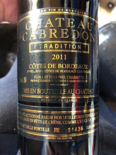 Château Cabredon Tradition Côtes de Bordeaux NV | Wine Info