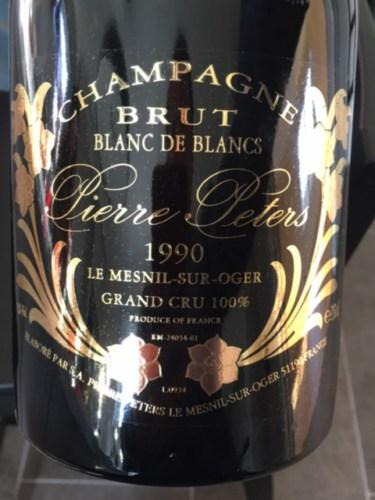 Pierre peters cuv e sp ciale les ch tillons blanc de blancs grand cru brut 1990 wine info for Salon blanc de blancs le mesnil sur oger