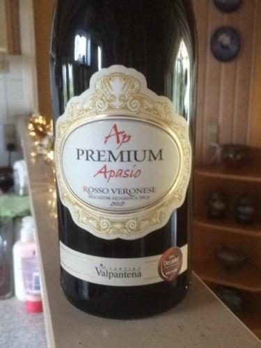 Cantina Valpantena AP Premium Apasio Rosso Veronese 2012 | Wine Info
