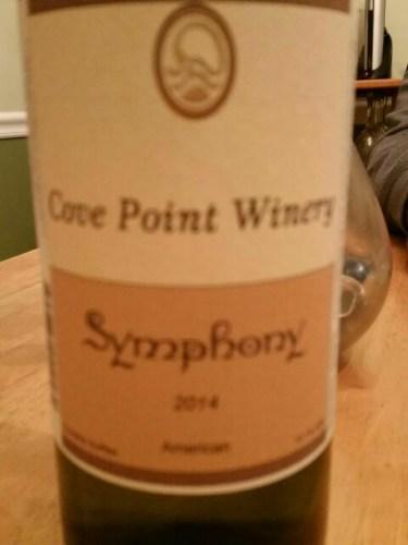 Cove Point Symphony Wine Info