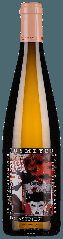 Image result for Josmeyer - Gewürztraminer Alsace Cuvée des Folastries 2015