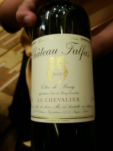 Ch teau falfas le chevalier c tes de bourg 2009 wine info - Chateau de mike le chevalier ...