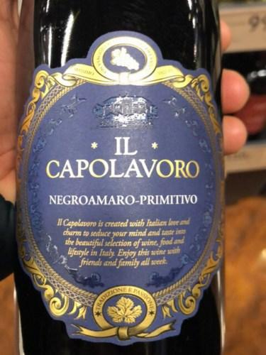 Il Capolavoro Negroamaro - Primitivo 2017 | Wine Info