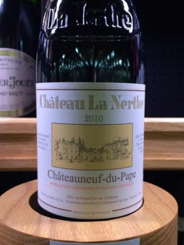 Ch teau la nerthe ch teauneuf du pape 2010 wine info for Chateau la nerthe