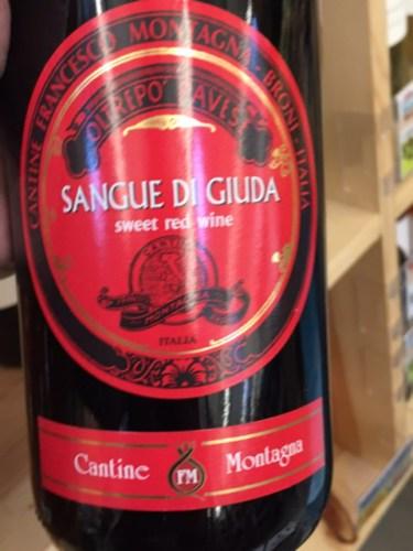 Montagna sangue di giuda 2016 wine info for Cabine vicino montagna di sangue