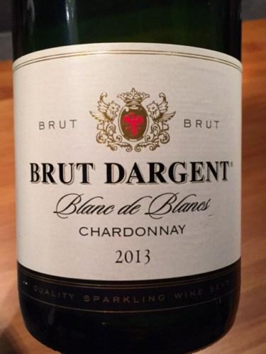 Brut dargent blanc de blancs brut 2013 wine info for Belle jardin blanc de blancs